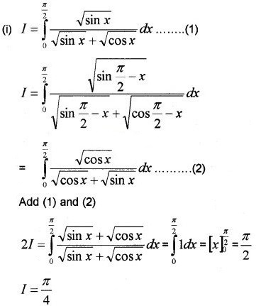 Plus Two Maths Chapter Wise Questions and Answers Chapter 7 Integrals 3M Q8.1