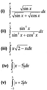 Plus Two Maths Chapter Wise Questions and Answers Chapter 7 Integrals 3M Q8