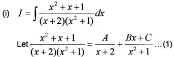 Plus Two Maths Chapter Wise Questions and Answers Chapter 7 Integrals 4M Q1.1