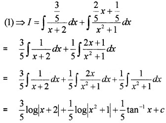 Plus Two Maths Chapter Wise Questions and Answers Chapter 7 Integrals 4M Q1.2