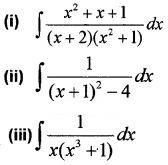 Plus Two Maths Chapter Wise Questions and Answers Chapter 7 Integrals 4M Q1