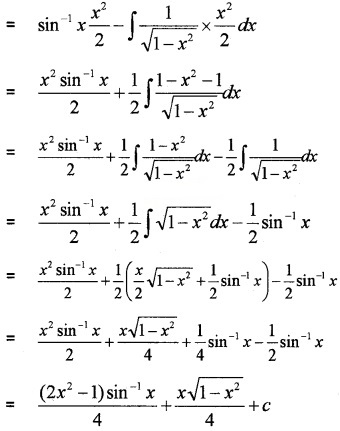 Plus Two Maths Chapter Wise Questions and Answers Chapter 7 Integrals 4M Q2.2