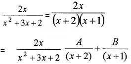 Plus Two Maths Chapter Wise Questions and Answers Chapter 7 Integrals 4M Q3.1