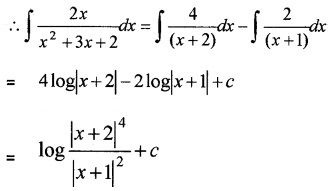 Plus Two Maths Chapter Wise Questions and Answers Chapter 7 Integrals 4M Q3.2