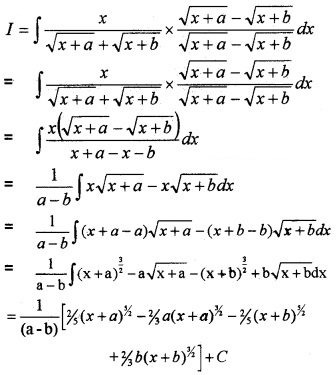 Plus Two Maths Chapter Wise Questions and Answers Chapter 7 Integrals 4M Q7
