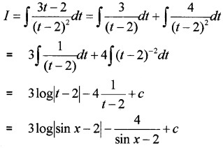 Plus Two Maths Chapter Wise Questions and Answers Chapter 7 Integrals 6M Q10.4