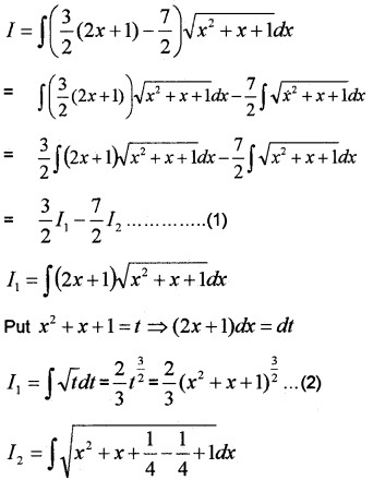 Plus Two Maths Chapter Wise Questions and Answers Chapter 7 Integrals 6M Q2.1