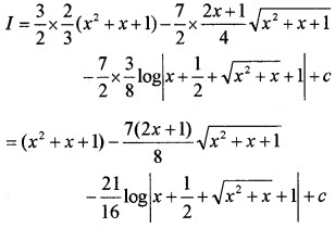 Plus Two Maths Chapter Wise Questions and Answers Chapter 7 Integrals 6M Q2.3