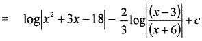 Plus Two Maths Chapter Wise Questions and Answers Chapter 7 Integrals 6M Q2.5