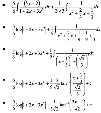 Plus Two Maths Chapter Wise Questions and Answers Chapter 7 Integrals 6M Q2.7