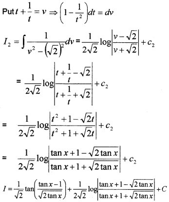 Plus Two Maths Chapter Wise Questions and Answers Chapter 7 Integrals 6M Q6.2