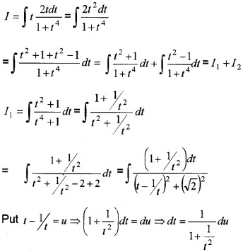 Plus Two Maths Chapter Wise Questions and Answers Chapter 7 Integrals 6M Q6
