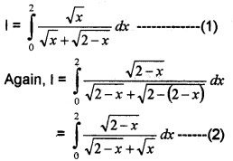 Plus Two Maths Chapter Wise Questions and Answers Chapter 7 Integrals 6M Q9.1