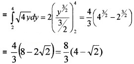 Plus Two Maths Chapter Wise Questions and Answers Chapter 8 Application of Integrals 4M Q4.1