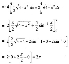 Plus Two Maths Chapter Wise Questions and Answers Chapter 8 Application of Integrals 6M Q5.1