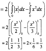 Plus Two Maths Chapter Wise Questions and Answers Chapter 8 Application of Integrals 6M Q6.1