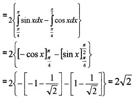 Plus Two Maths Chapter Wise Questions and Answers Chapter 8 Application of Integrals 6M Q8.1