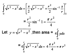 Plus Two Maths Chapter Wise Questions and Answers Chapter 8 Application of Integrals 6M Q9.1