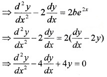 Plus Two Maths Chapter Wise Questions and Answers Chapter 9 Differential Equations 3M Q1