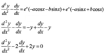 Plus Two Maths Chapter Wise Questions and Answers Chapter 9 Differential Equations 3M Q2