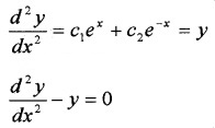 Plus Two Maths Chapter Wise Questions and Answers Chapter 9 Differential Equations 3M Q3