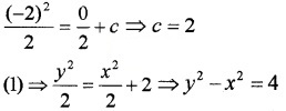 Plus Two Maths Chapter Wise Questions and Answers Chapter 9 Differential Equations 3M Q5