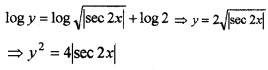 Plus Two Maths Chapter Wise Questions and Answers Chapter 9 Differential Equations 3M Q8