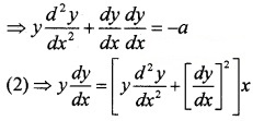 Plus Two Maths Chapter Wise Questions and Answers Chapter 9 Differential Equations 4M Q1