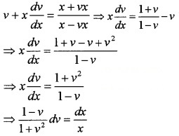 Plus Two Maths Chapter Wise Questions and Answers Chapter 9 Differential Equations 4M Q11