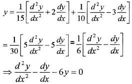 Plus Two Maths Chapter Wise Questions and Answers Chapter 9 Differential Equations 4M Q2.1