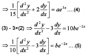 Plus Two Maths Chapter Wise Questions and Answers Chapter 9 Differential Equations 4M Q2