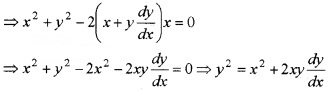 Plus Two Maths Chapter Wise Questions and Answers Chapter 9 Differential Equations 4M Q3