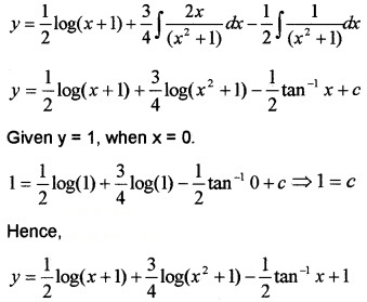 Plus Two Maths Chapter Wise Questions and Answers Chapter 9 Differential Equations 4M Q4.2
