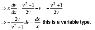 Plus Two Maths Chapter Wise Questions and Answers Chapter 9 Differential Equations 4M Q6.1