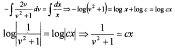 Plus Two Maths Chapter Wise Questions and Answers Chapter 9 Differential Equations 4M Q6.2