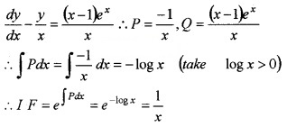 Plus Two Maths Chapter Wise Questions and Answers Chapter 9 Differential Equations 4M Q7