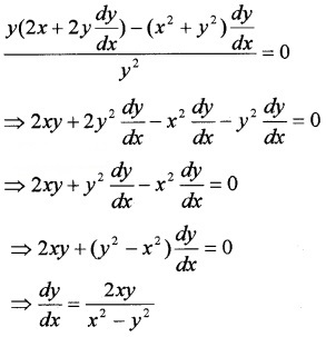 Plus Two Maths Chapter Wise Questions and Answers Chapter 9 Differential Equations 4M Q8.1