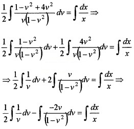 Plus Two Maths Chapter Wise Questions and Answers Chapter 9 Differential Equations 6M Q1.1