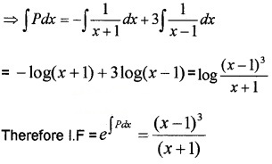 Plus Two Maths Chapter Wise Questions and Answers Chapter 9 Differential Equations 6M Q4.3