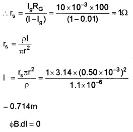 Plus Two Physics Chapter Wise Questions and Answers Chapter 4 Moving Charges and Magnetism 5M Q11.2
