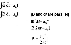 Plus Two Physics Chapter Wise Questions and Answers Chapter 4 Moving Charges and Magnetism 5M Q2.2