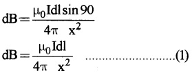Plus Two Physics Chapter Wise Questions and Answers Chapter 4 Moving Charges and Magnetism 5M Q9.3