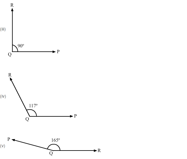 Angles and Their Measurement RS Aggarwal Class 6 Maths Solutions Ex 13C 2.2