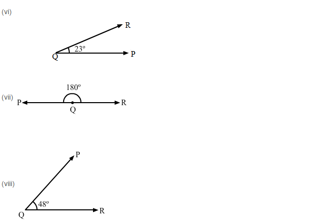 Angles and Their Measurement RS Aggarwal Class 6 Maths Solutions Ex 13C 2.3