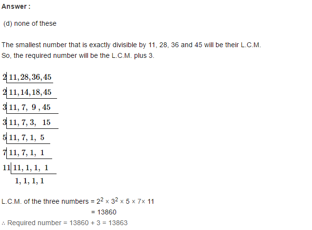 Factors and Multiples RS Aggarwal Class 6 Maths Solutions Ex 2F 19.1