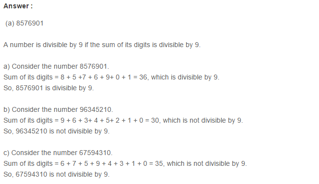 Factors and Multiples RS Aggarwal Class 6 Maths Solutions Ex 2F 2.1