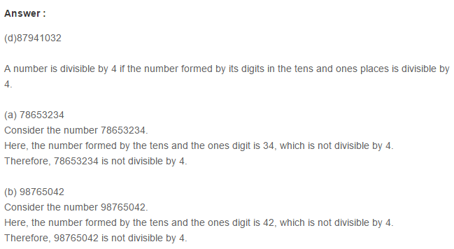 Factors and Multiples RS Aggarwal Class 6 Maths Solutions Ex 2F 3.1