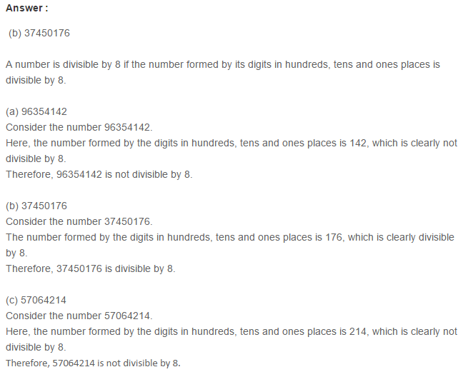 Factors and Multiples RS Aggarwal Class 6 Maths Solutions Ex 2F 4.1