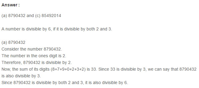 Factors and Multiples RS Aggarwal Class 6 Maths Solutions Ex 2F 5.1