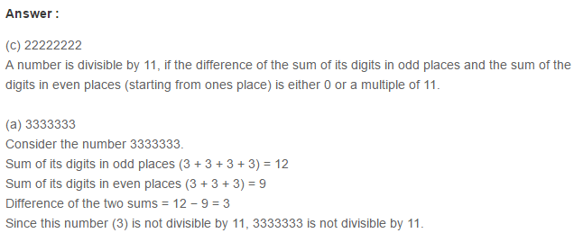 Factors and Multiples RS Aggarwal Class 6 Maths Solutions Ex 2F 6.1